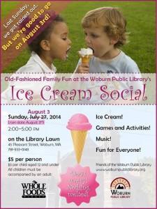 Ice Cream Social rain date