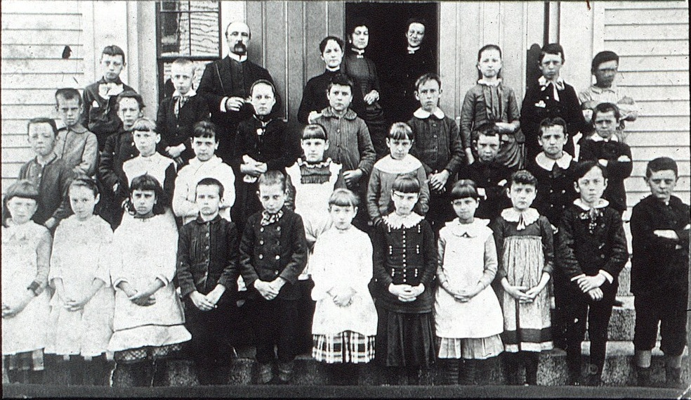 Unidentified Woburn School Group
