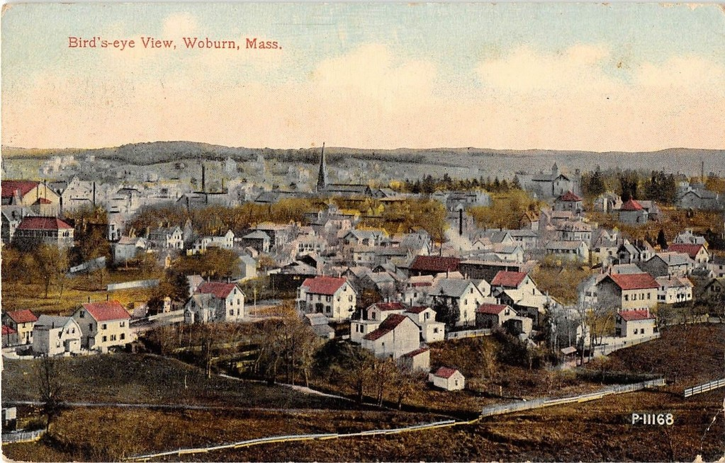 Bird's-eye View, Woburn, Mass.