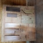 Flooring infill mock-ups