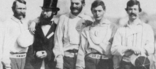 pre-civil war baseball team