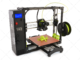 Lulzbot Taz 6 3D Printer with graphing paper background