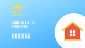 Resource Roundup for Housing