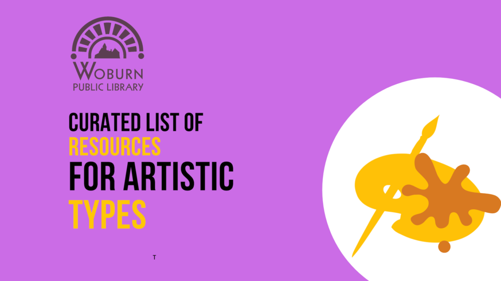 Resource Roundup for Artistic Types