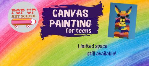Canvas Painting Workshops June 2021